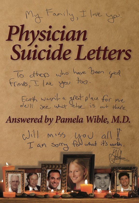 Physician SuicideLettersv—Answered ~ book cover front